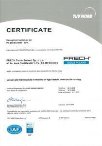 Certyfikat TUV Nord Polska - 02